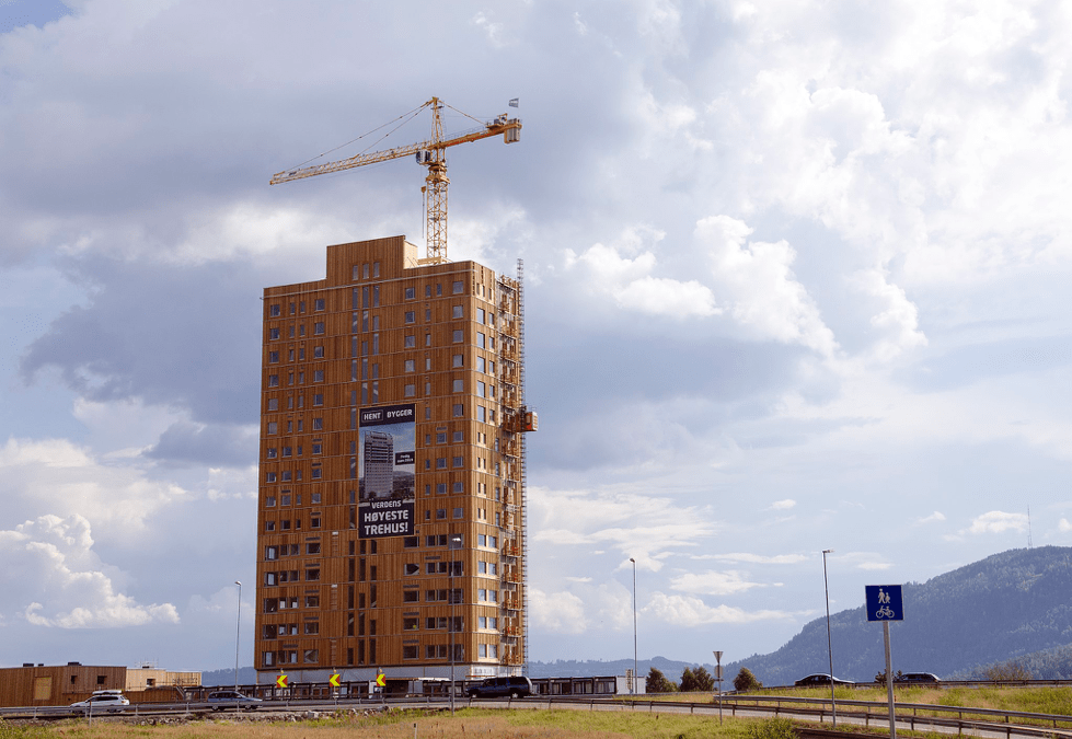 The World's Tallest All-Timber Building Has Been Completed in Norway
