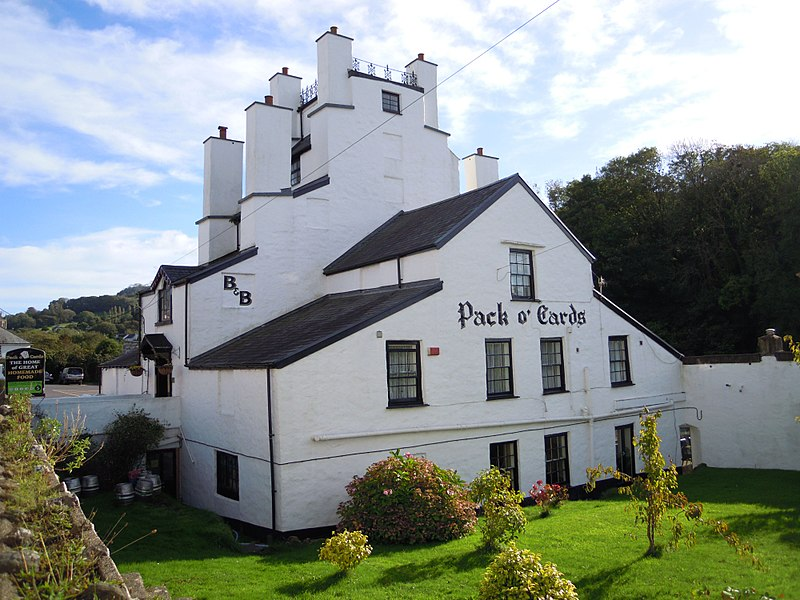 pack o cards pub north devon