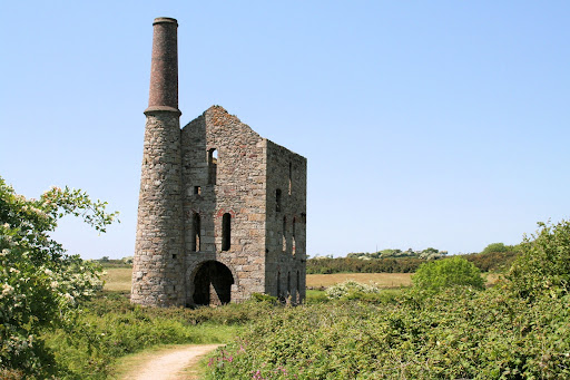 A historic mining building in Cornwall